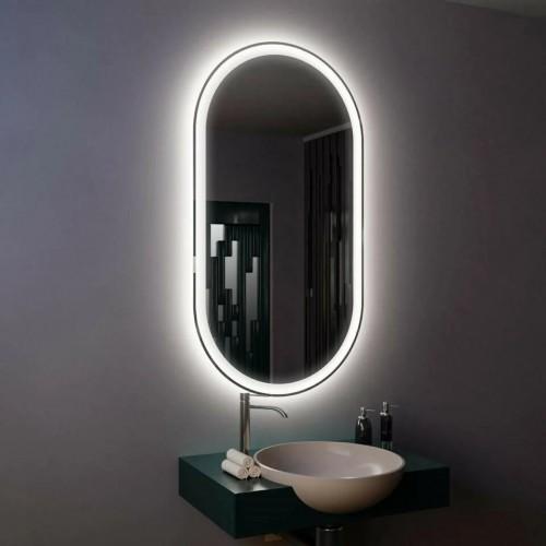 Зеркало с подсветкой настенное для ванной Данте 40х60